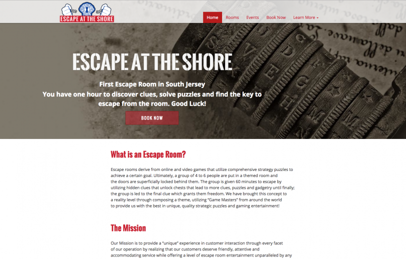 Escape at the Shore